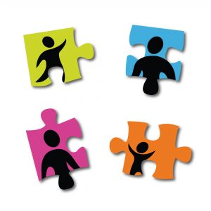Puzzle pieces with family members on each piece. Estranged: 3 Things You Lose When Your Family Stops Talking