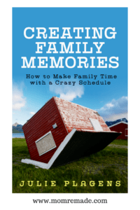 Learn how to create family memories with the book Creating Family Memories: How to Make Family Time with a Crazy Schedule. Do you want to take control of your family time? this is a book written by a teacher to help you make the most of the time you have with your family by creating family habits.