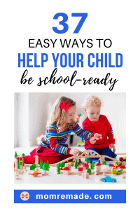 A boy and a girl playing blocks together. 37 Easy Ways to Help Your Child be School-Ready