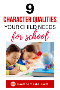 Children in a classroom writing on a paper. 9  Best Character Qualities Your Child Needs at School